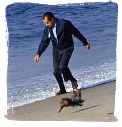 Nixon on the Beach