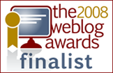 2008 Weblog Award site