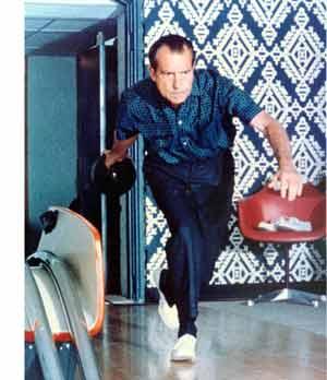 Nixon bowling