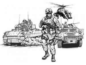 Battle-Scene