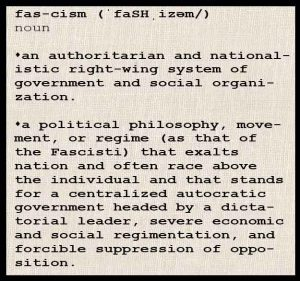 definition of fascism