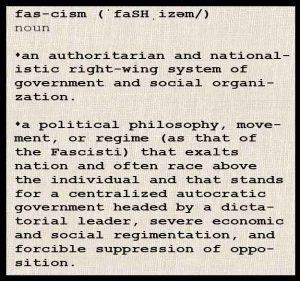 definition of fascism