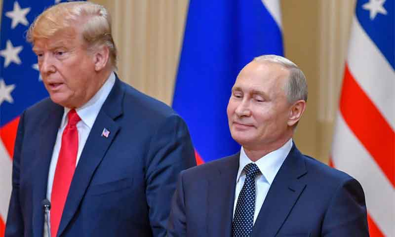 Trump and Putin at Helsinki